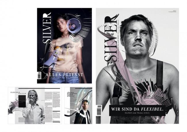Editorialdesign: »Silver Magazine«