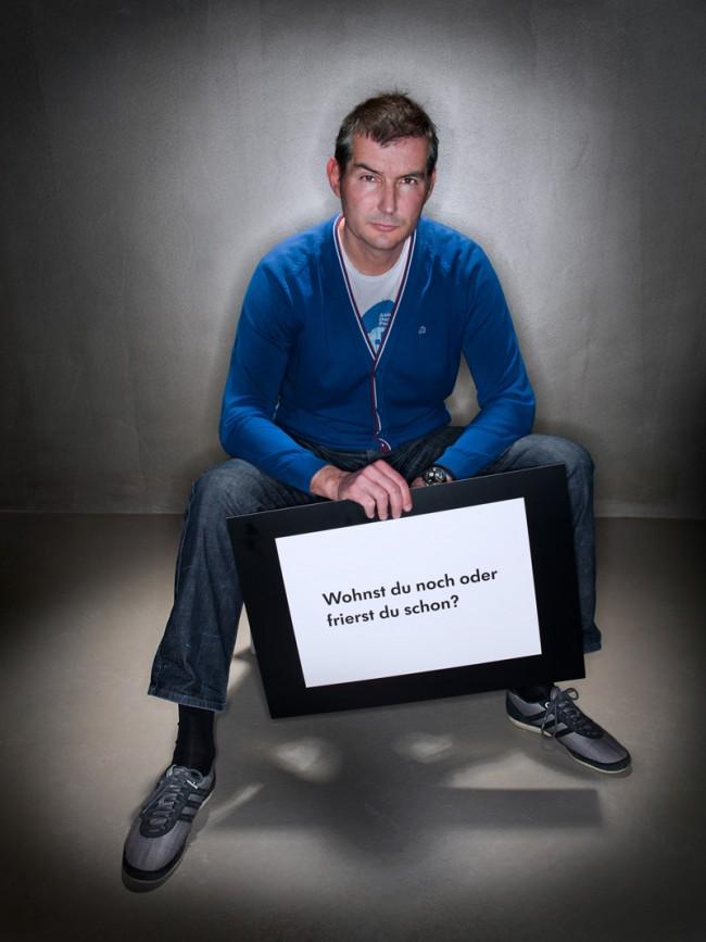 Michael Weigert (Weigertpirouzwolf) stellte seinen berühmten Ikea-Claim für den guten Zweck bereit