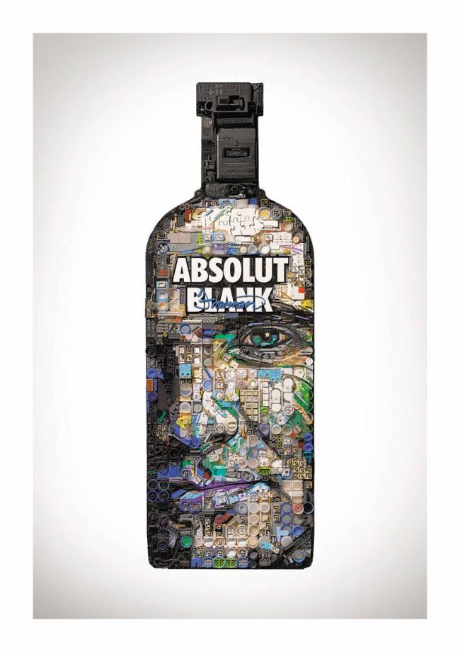 Der Texaner Zac Freeman gestaltete seine Flasche mit einem Porträt