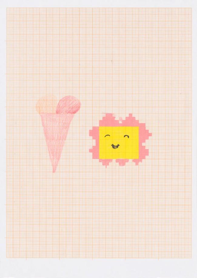 Eis und Blume (freie Arbeit)
