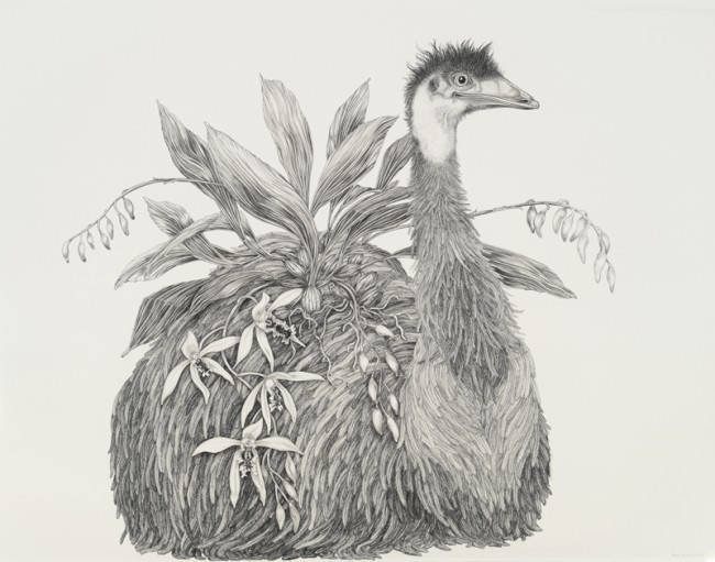 "You are the only one I want, Graphite on paper, 30"" x 38"", 2008"