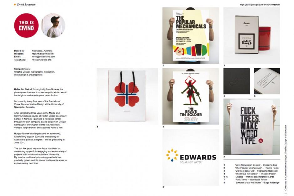 Face of Design 2011: Envid aus Newcastle, Australien