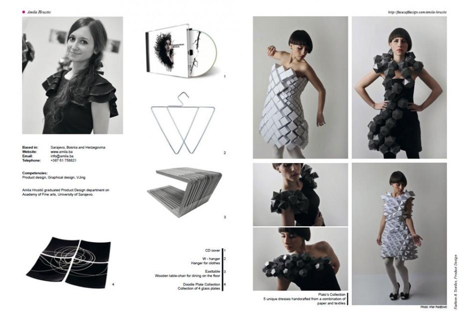 Face of Design 2011: Amila Hrustic aus Sarajevo, Bosnien-Herzegowina