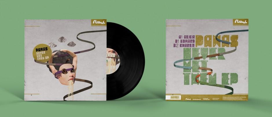 Music Packaging für Flash Recordings, Berlin