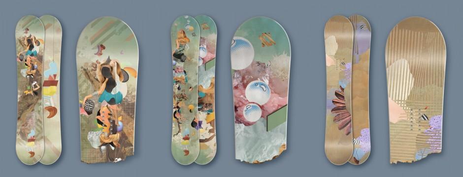 Snowboard Designs für Völkl Snowboards, München