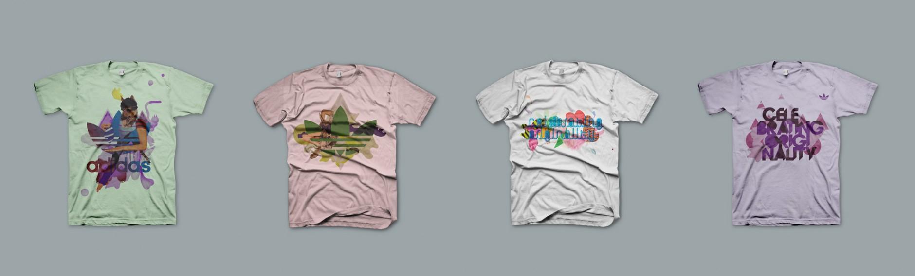 T-Shirt Designs für Adidas, Herzogenaurach