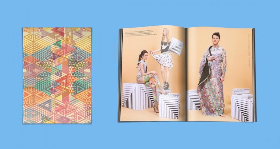 Textil/Pattern Design für das Cut Magazin, München