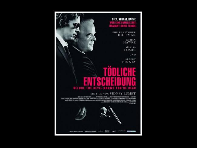 Art Direction Filmplakat »Tödliche Entscheidung«