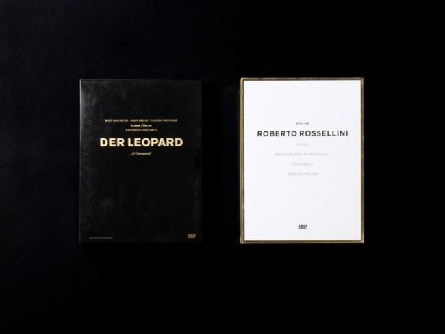 Art Direction und Design der Rossellini-Box und »Der Leopard« von Visconti