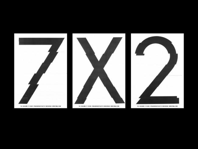 7 X 2, Ausstellungsevent zum Gallery-Weekend, Berlin