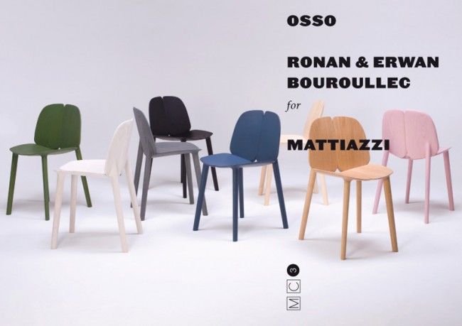 »OSSO« Art Direction und Kommunikation für Mattiazzi