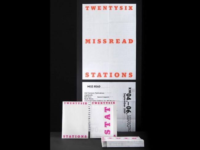 MISS READ, für KW, Kunstwerke Berlin