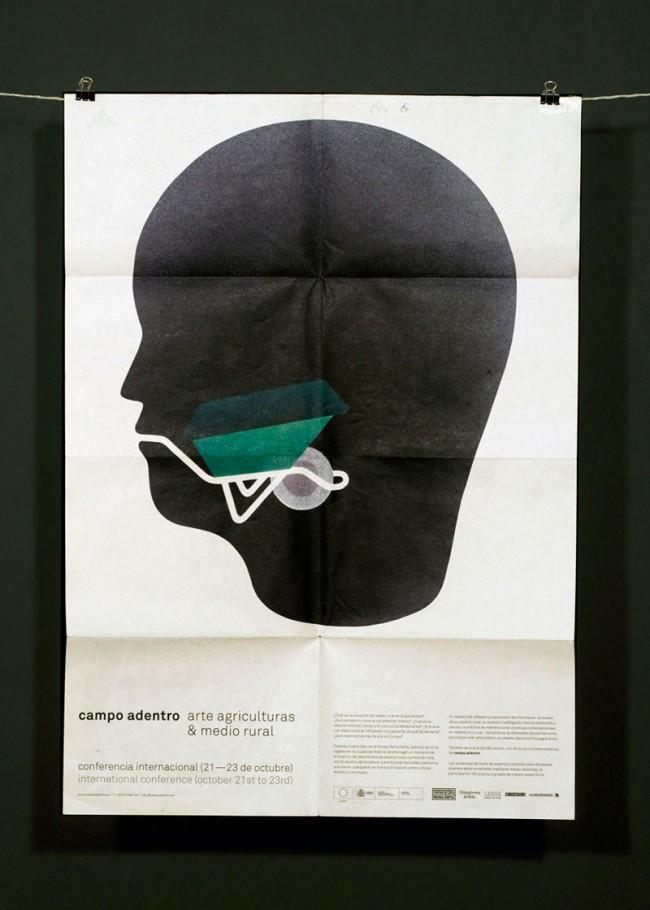 Bildkonzept und Illustrationsserie für Campo Adentro - art, agricultures & countryside, Spanien, 2010