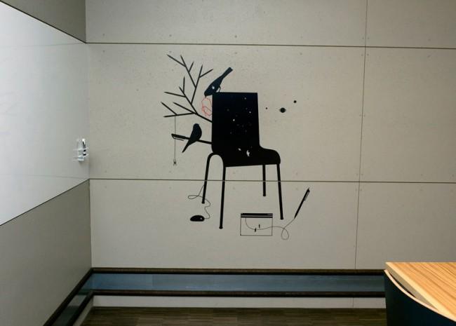 Bildkonzept für die Räumlichkeiten der Stiftung Contenti Luzern, 2010