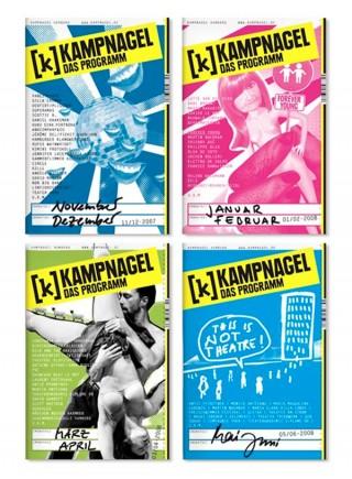 Programmheftcover von Kampnagel