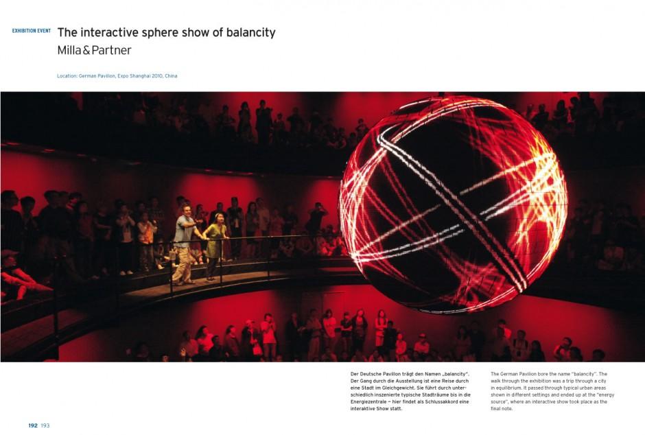 »City of balance« im deutschen Pavillon auf der EXPO Shanghai 2010