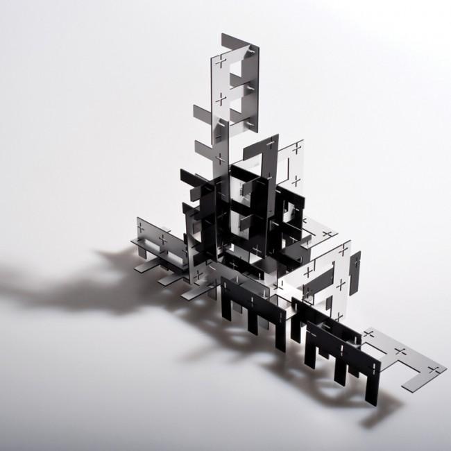 ESTECK 30 STK: Steckspiel mit dem Buchstaben E + Verpackung