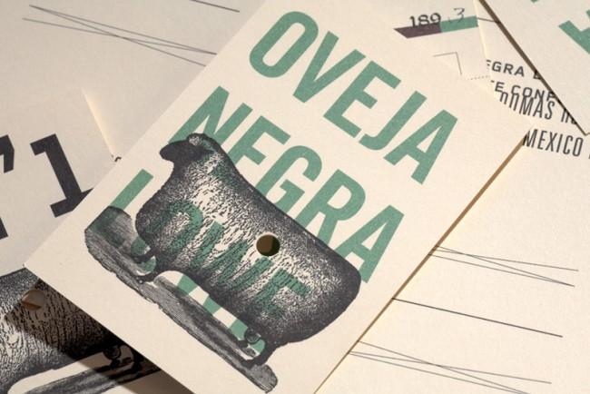 Logo und Geschäftsausstattung für »Oveja Negra Lowe« (Schwarzes Schaf)