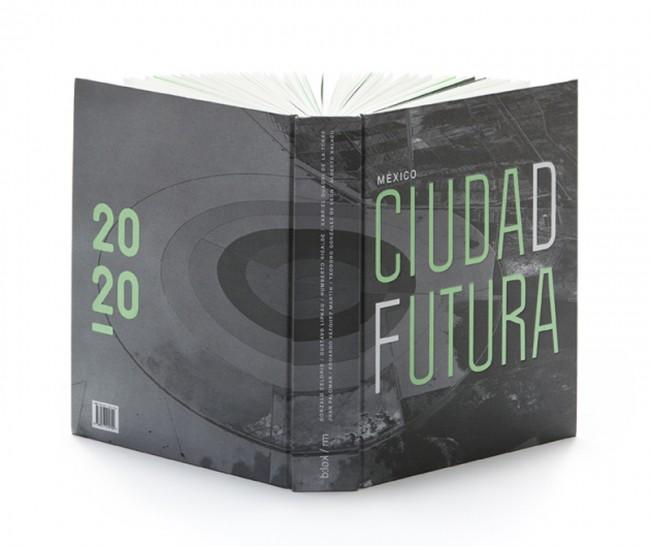 Buchgestaltung für das Projekt »México Ciudad Futura«, das die ökologische und soziale Dynamik von Mexiko-Stadt durch die Rettung des trockenen Seegrunds Texcoco dokumentiert