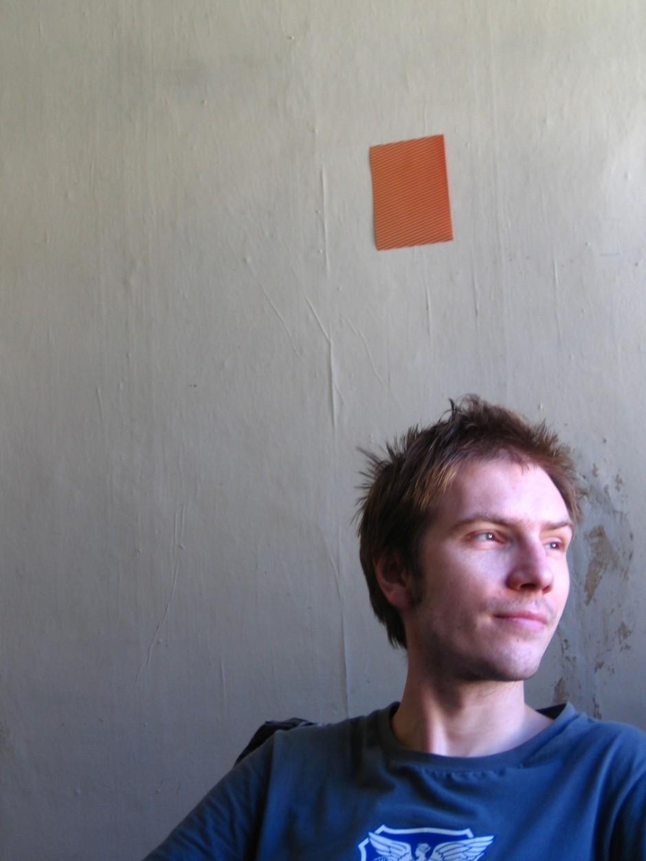 Nikolai Larin, 35, lebt und arbeitet in St. Petersburg