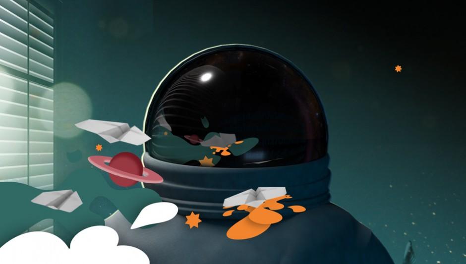 Für den Kreativwettbewerb Daydream entstand der Kurzfilm »Paperplane« zum Thema »Tagtraum vom Fliegen«