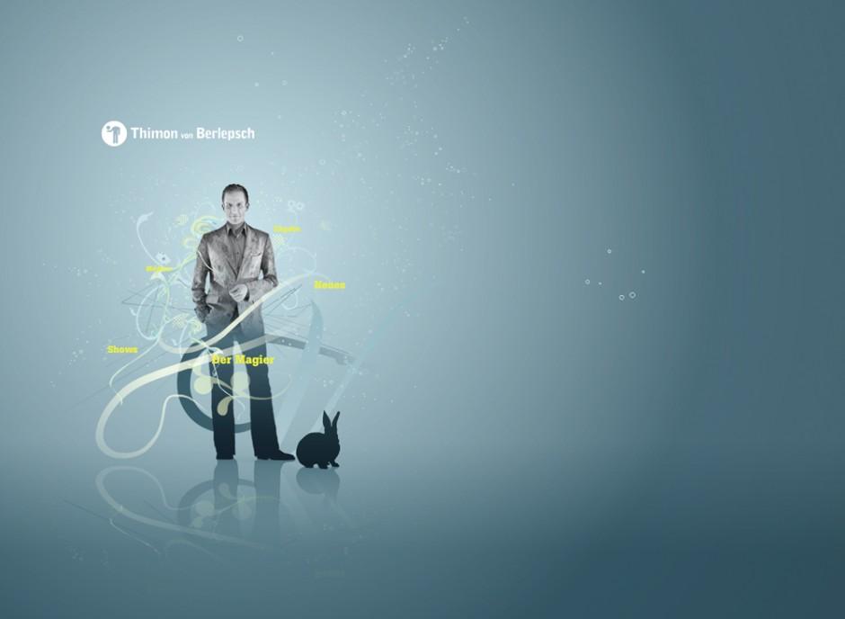 Thimon von Berlepsch: Gestaltung und Flash-Animation für die Website loseyourmind.eu