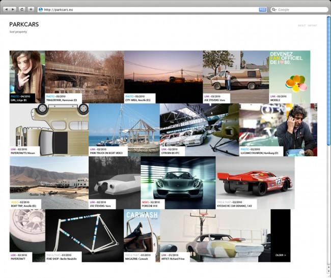 ParkCars: Konzeption und Re-Design einer Website in Zusammenarbeit mit Robert Basik