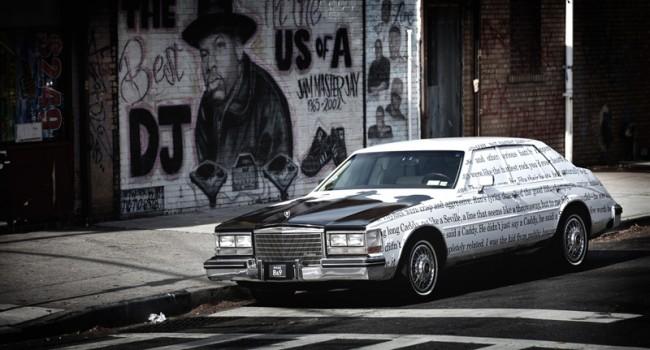 Cadillac im Run DMC Way in Queens