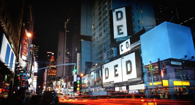 Billboard am Times Square