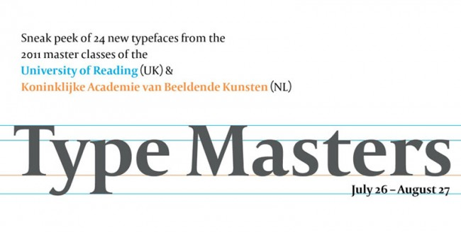 Type Masters Exhibition