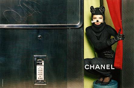 Bild Herbstkampagne Chanel
