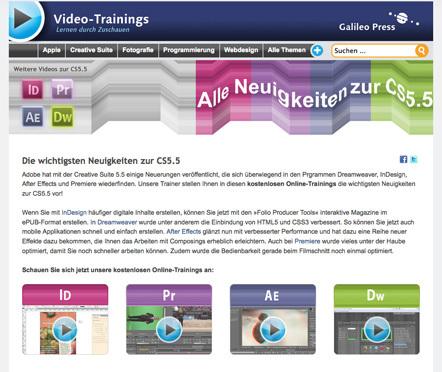 Bild Online-Trainings Galileo Press