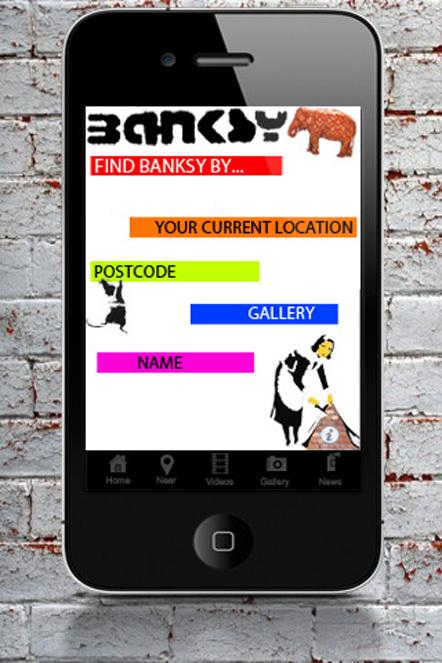 Bild Banksy App