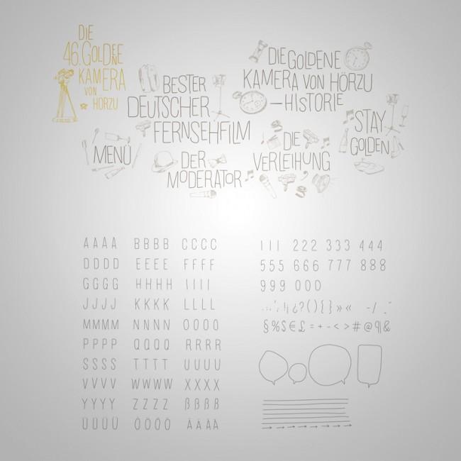 Die Typografie entwickelte Paperlux speziell für das Event