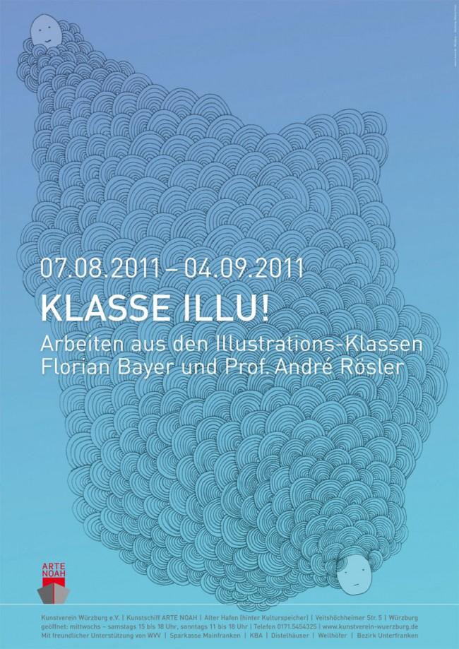 Plakat Studentenausstellung