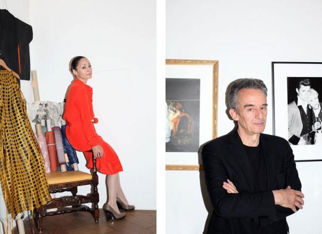 Porträt von Kazu Huggeler (Modedesignerin) und Partick Frey (Verlag Edition Patrick Frey) für ZÜRITIP, 2011