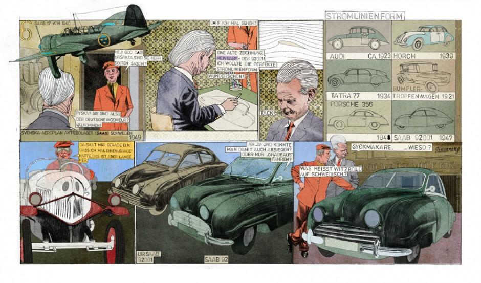 Comic: Saab Ansicht