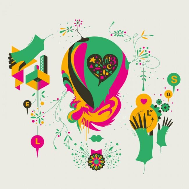 Illustration für das Proyectodisenio Magazin