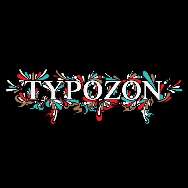 Typografische Logoumsetzung für Typozon