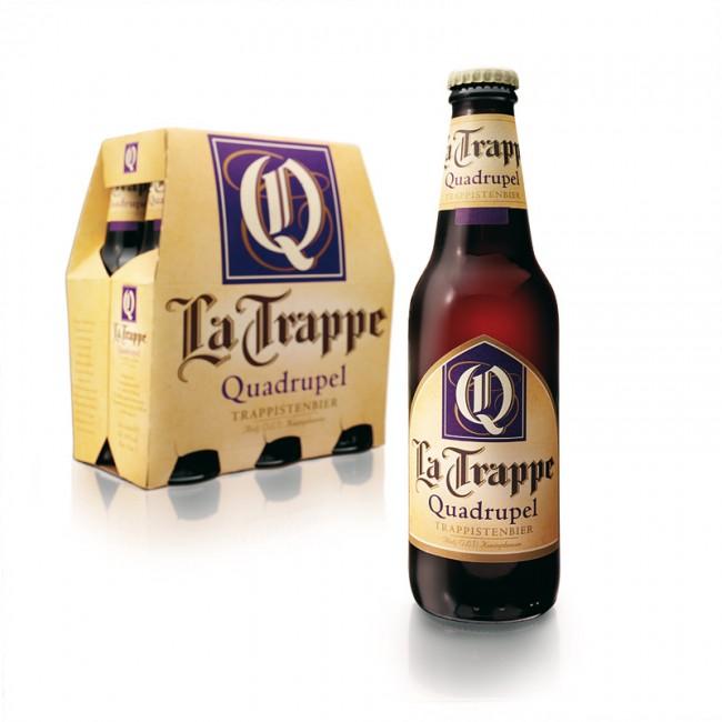La Trappe ist das einzige holländische Bier, das von Mönchen gebraut und verkauft wird. Dies spiegelt sich in der Typo wider, bei der sich Brandnew.design von den Originalmanuskripten des Klosters inspirieren ließen