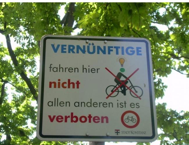 »Vernünftige fahren hier nicht«