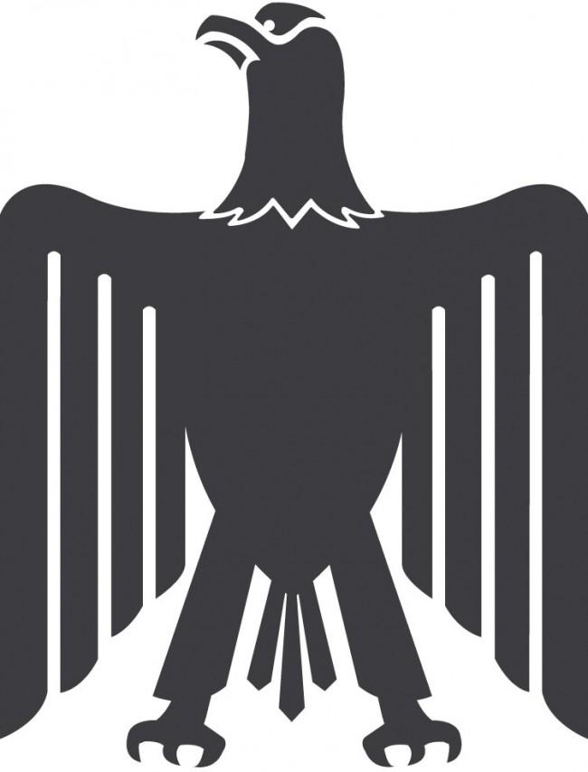 Für das Branding der Ägyptischen Ministerien hat Alia Edrees den Adler Saladins, das Staatsenblem Ägyptens, modifiziert