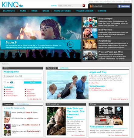 Bild Kino.de Relaunch