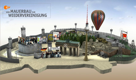 Bild ZDF Mauerbau
