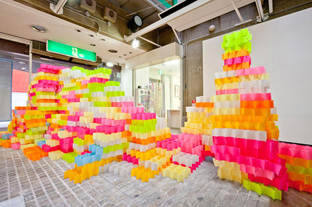 Bild Post-it structure
