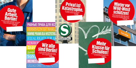 Bild Wahlplakate Linke