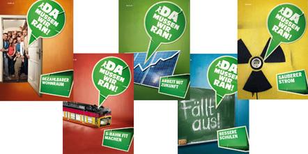 Bild Wahlplakate Grüne