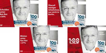 Bild Wahlplakate CDU