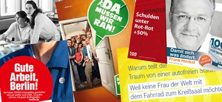 Bild Wahlplakate Berlin