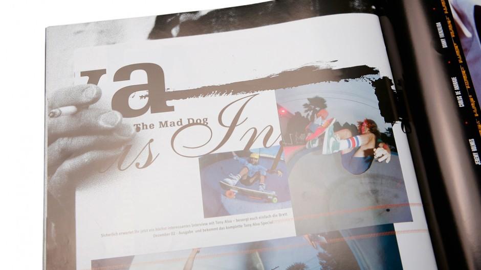 Editorial Design: Brett Magazin XXL für Brett grafic Plus – Magazin für Brettsportarten